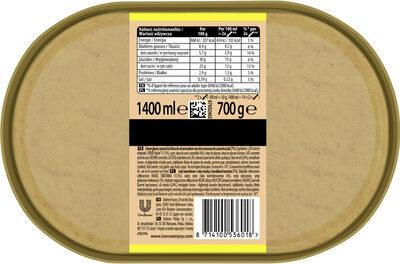Carte D'or Les Authentiques Glace Caramel Fleur de Sel Format Spécial 1,4l - Ingrédients
