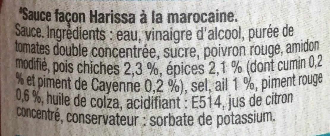 Moroccan Harissa Sauce - Ingrédients - fr