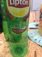 Lipton ice tea gree wild strawberry - Produit - fr
