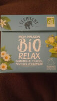 Elephant Mon Infusion Bio Relax 20 sachets - Ingredients - fr
