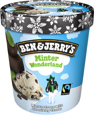 Ben & Jerry's Glace Pot Minter Wonderland 500 ml - Produit - fr