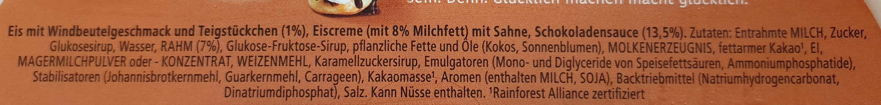 Schoko Windbeutel - Ingredients