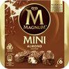MAGNUM Glace Bâtonnet Mini Amande 6x55ml - Producte