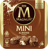 Magnum Glace Bâtonnet Mini Amande x6 330ml - Product