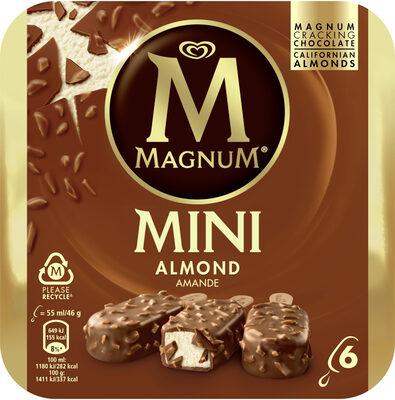 MAGNUM Glace Bâtonnet Mini Amande 6x55ml - Produkt - fr