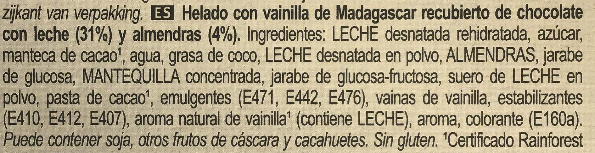 Mini amande - Ingredientes