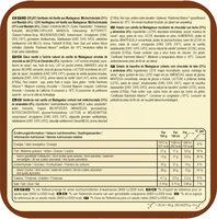 Batonnet Glace Amande x 6 330 ml - Ingredientes - es