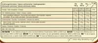 MAGNUM Glace Bâtonnet Mini Amande 6x55ml - Nährwertangaben - fr