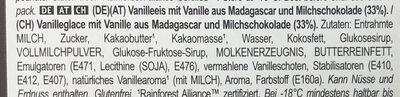 Magnum Glace Bâtonnet Mini Classic x6 330ml - Zutaten - de
