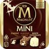 Magnum Glace Batonnet Mini Amande Chocolat Blanc 6x55ml - Produto