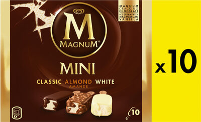 Magnum - Mini classic, almond, white - Producto - fr