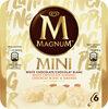 Magnum Batonnet Glace Chocolat Blanc, Blanc Amande x6 330ml - Product
