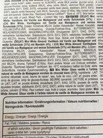 Magnum Batonnet Glace Chocolat Blanc, Blanc Amande x6 330ml - Ingrediënten - fr