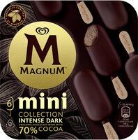 Magnum Glace Bâtonnet Mini Chocolat Noir Intense 6x55ml - Produkt - fr