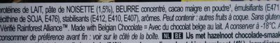 Mini praliné - Ingredients