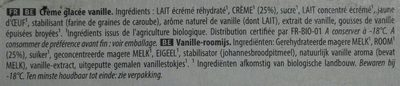 Les bios vanille douce sava - Ingrediënten