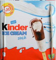 Kinder Ice Cream Stick - Product - de