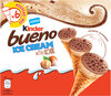 KINDER Glace Cornet Mini Noisettes Chocolat - Product