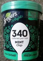 Breyers delight - Mint Chip - Product