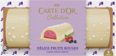 Carte D'or Collection Buche Glacée Délice de Fruits Rouges 900 ML - Produit - fr