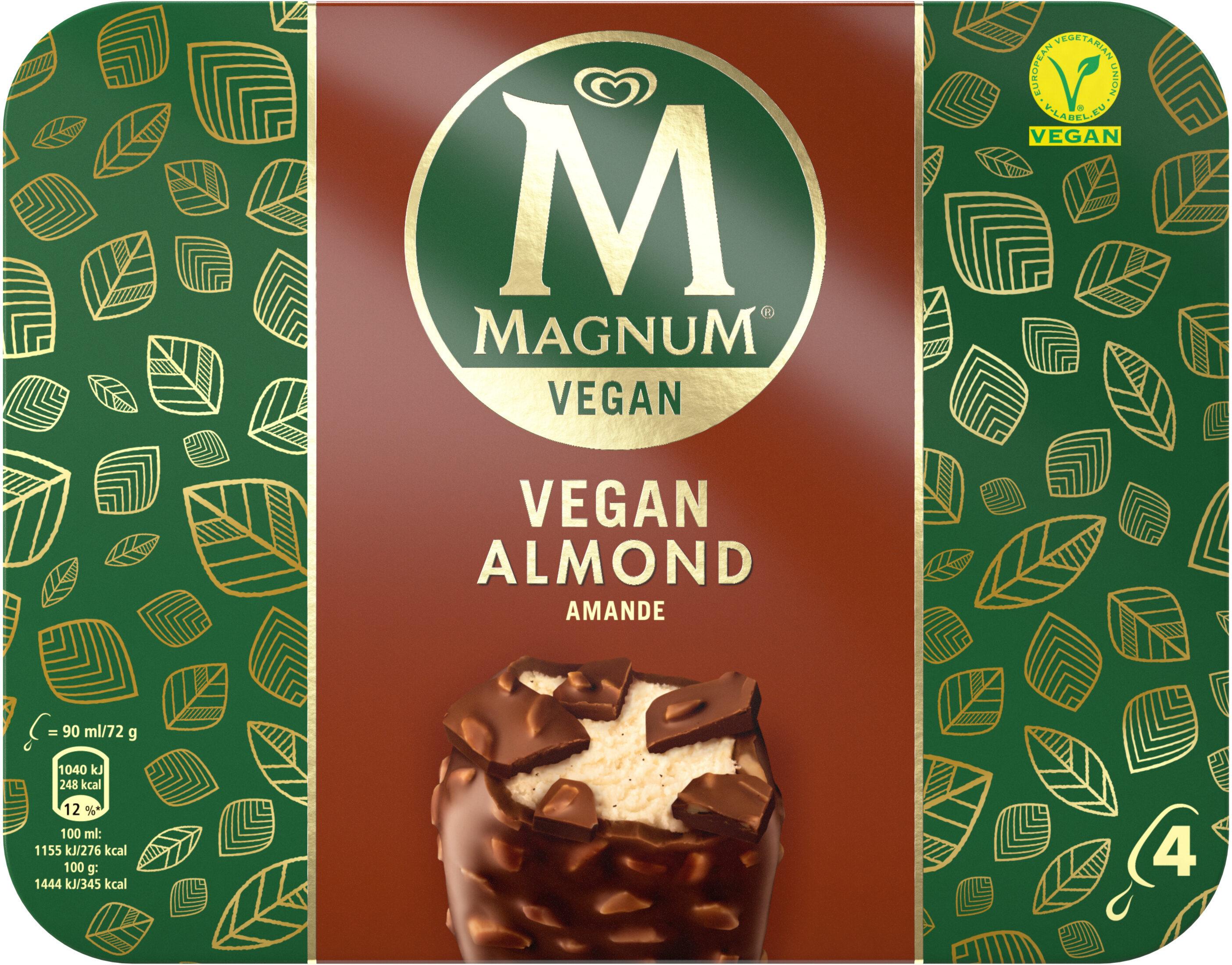 Magnum Vegan Almond - Produit - fr