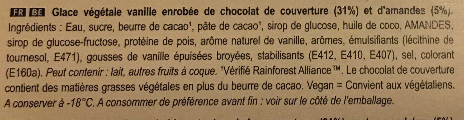 Magnum Vegan Almond - Ingrediënten - en