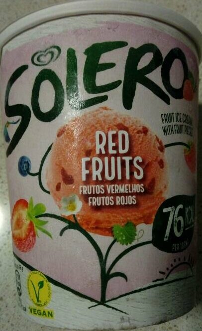 Red fruits - Producto