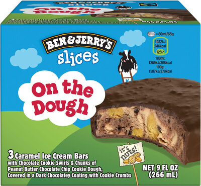 Ben & Jerry's Glace Wich Sandwich On The Dough 267ml - Product