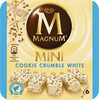 Magnum Mini Batonnet Glace Chocolat Blanc Cookie Crumble x6 360ml - Product