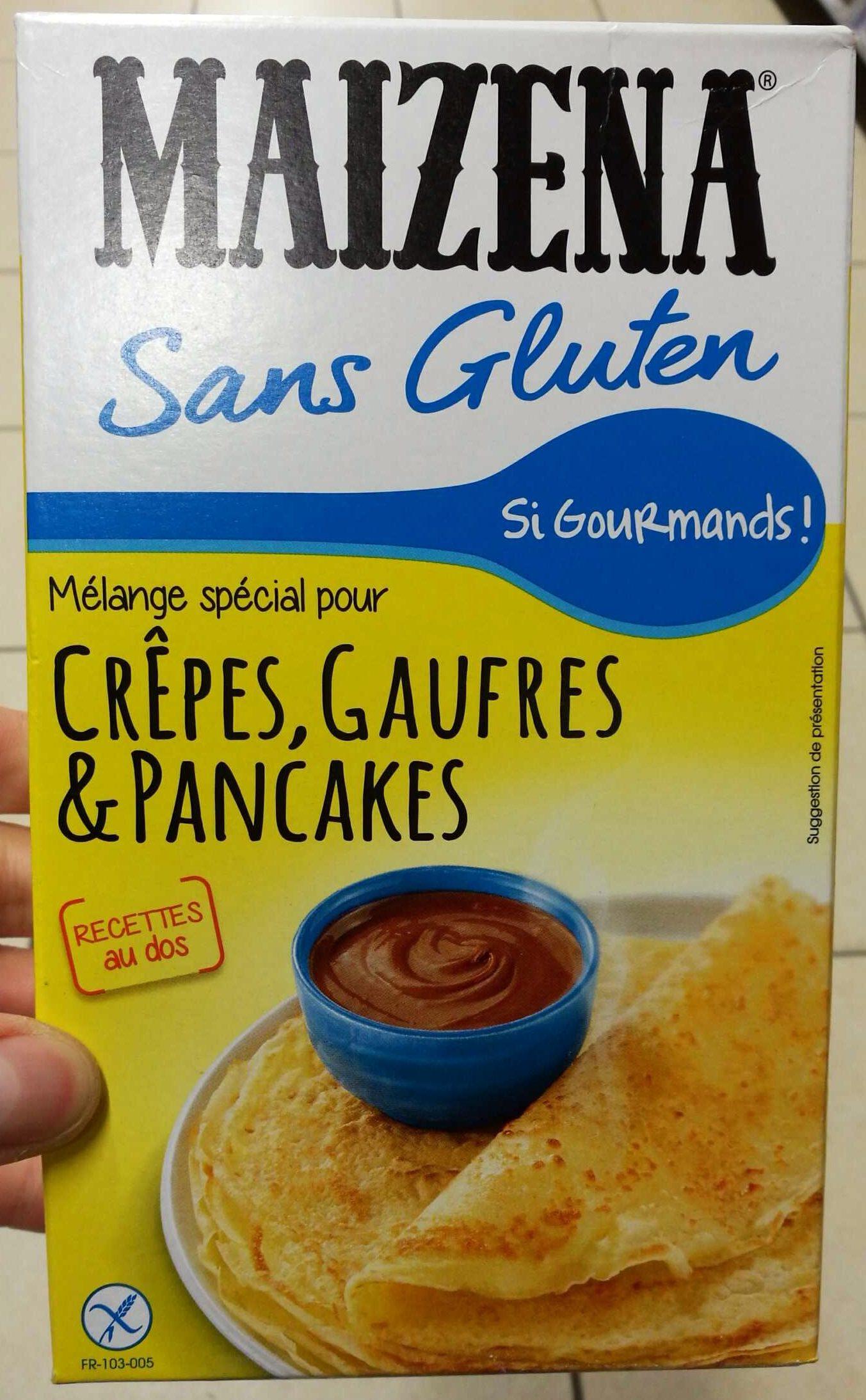 Melange Pour Crepes Gaufres Pancakes Maizena