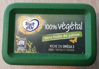 Fruit d'Or 100% Végétal sans huile de palme - Product