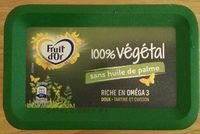 Margarine 100% Végétal doux Fruit d'Or - Produit