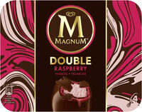 Magnum Batonnet Glace Double Framboise x4 352ml - Product - fr