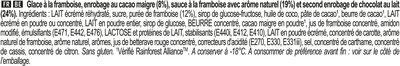 Magnum Double Framboise - Ingrédients - fr