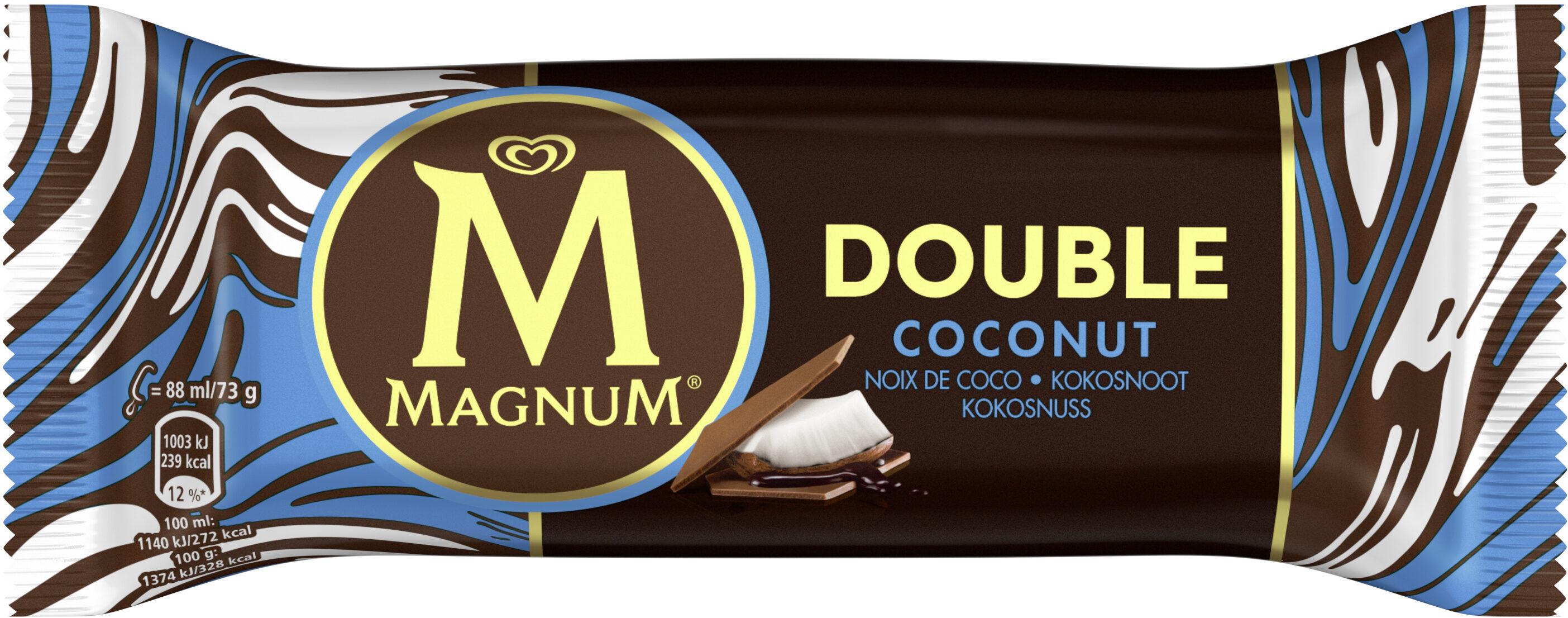 Magnum Batônnet Glace Double Coco 88ml - Prodotto - fr