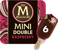 Magnum Glace Batonnet Mini Double Framboise 6x60ml - Produto - fr