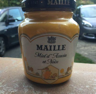 Moutarde Miel d'acacia et noix - Produit - fr