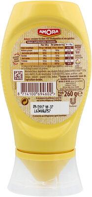 Amora Moutarde Douce & Miel Flacon Souple 260g - Voedingswaarden - fr