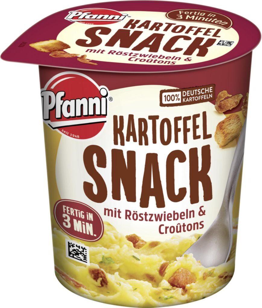 Kartoffel Snack mit Röstzwiebeln & Croûtons - Produkt - de