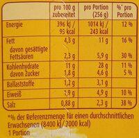 Kartoffel Snack mit Röstzwiebeln & Croûtons - Informations nutritionnelles - de