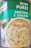 Danie Pure, Śmietana z ziołami - Produkt - pl