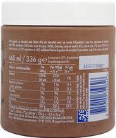 Grom Crème Glacée Pot Chocolat Noir 460ml - Ingrediënten - fr