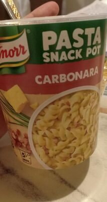 Carbonara pasta - Produit - fr