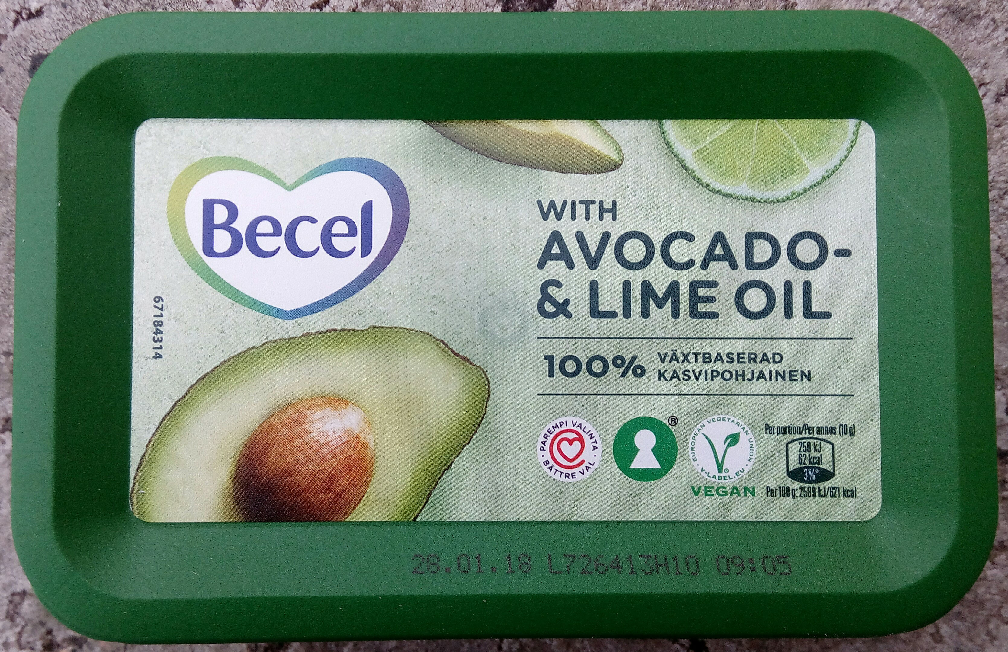 Becel with Avocado- & Lime Oil - Product