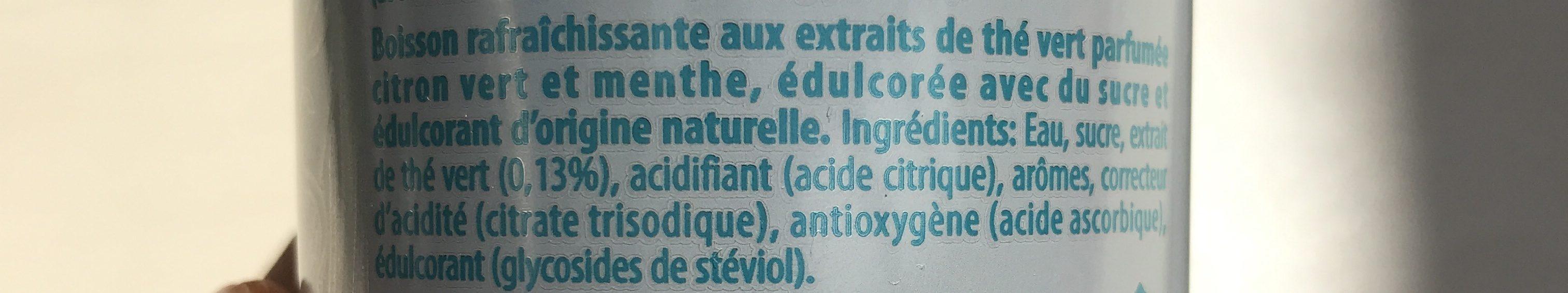 Ice Tea Mojito - Ingrédients - fr