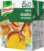 Eco puré de calabaza con zanahoria ecológico - Produit