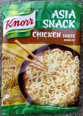 Knorr Asia Snack Chicken Taste Noodles - Product