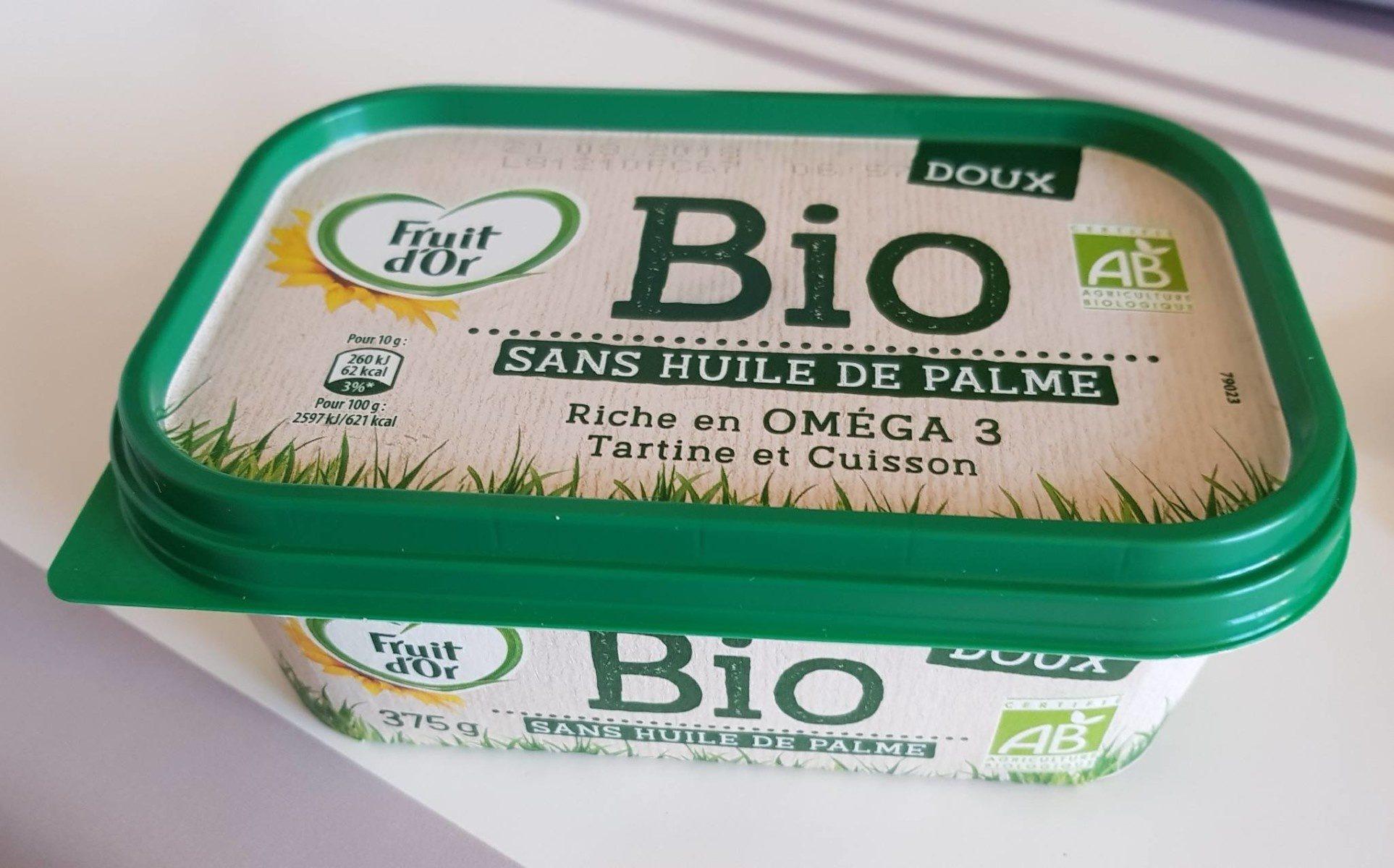 Bio doux sans huile de palme - Produit