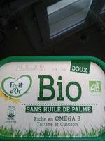 fruit d'or bio sans huile de palme - Produit