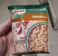 noodles chicken taste - Produktas - en